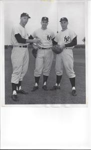 (left to right) Cloyd Boyer, Clete Boyer, Ronald Boyer March 9, 1963 Sporting News Collection