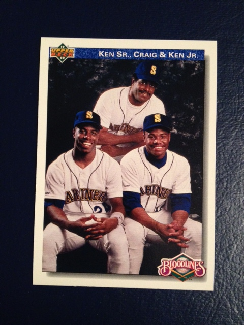 1992 Upper Deck Griffeys